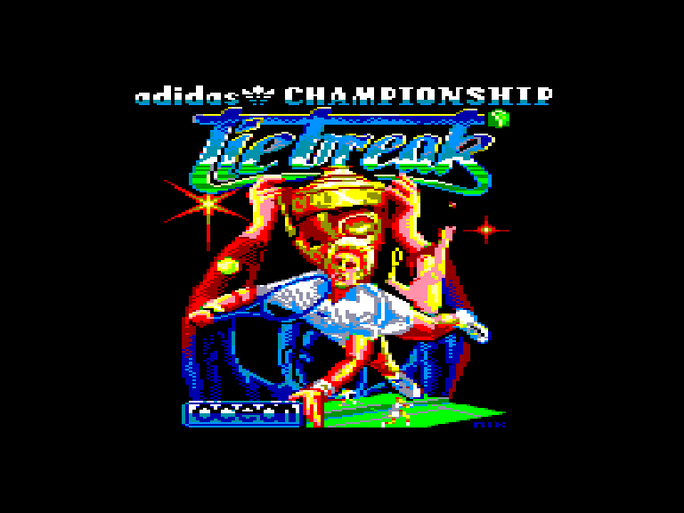 screenshot of Adidas championship tie-break provided by GameBase CPC