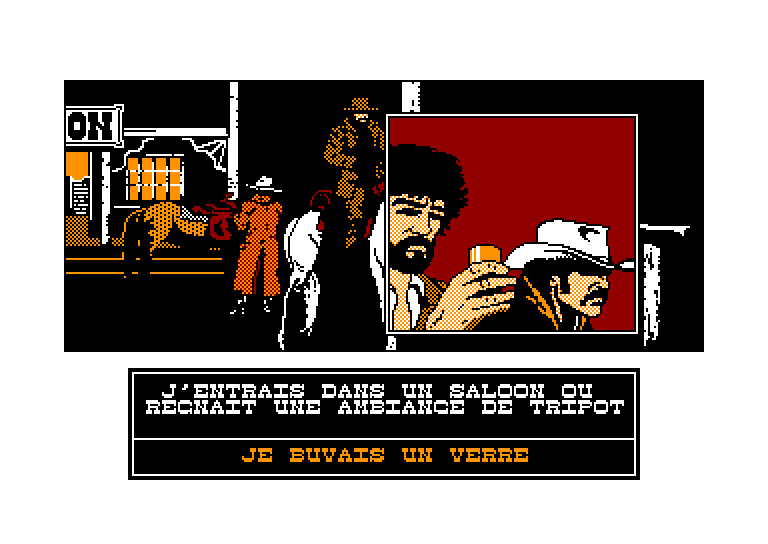 screenshot of Affaire santa fe (l') provided by GameBase CPC