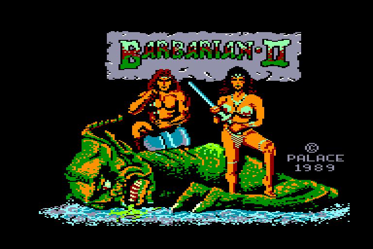 Les Jeux de Légende sur Amstrad & Amiga Barbarian%20II%20(E)_1