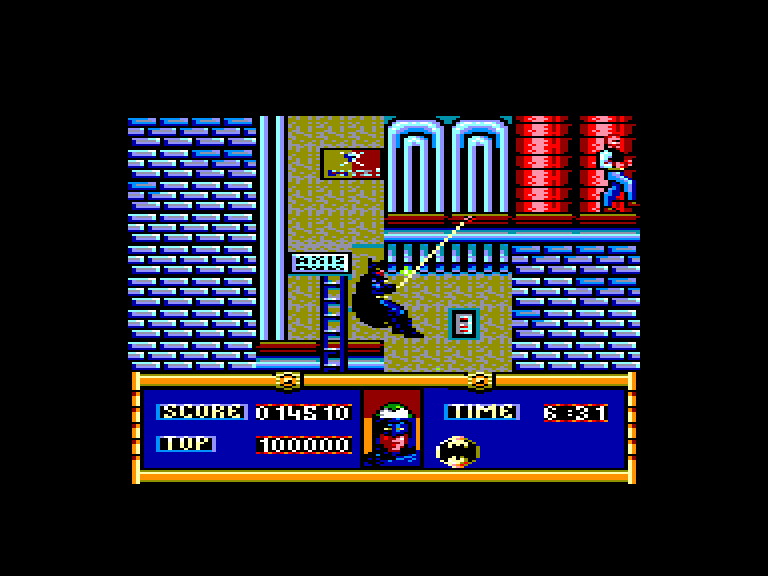 screenshot of Batman - The movie provided by GameBase CPC