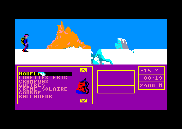 screenshot of Bivouac provided by GameBase CPC