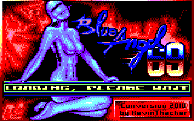 screenshot of Blue Angel 69 provided by GameBase CPC