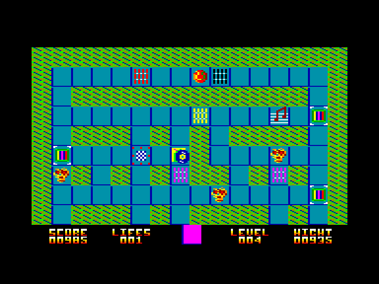 screenshot of Charlie Bound Sound provided by GameBase CPC