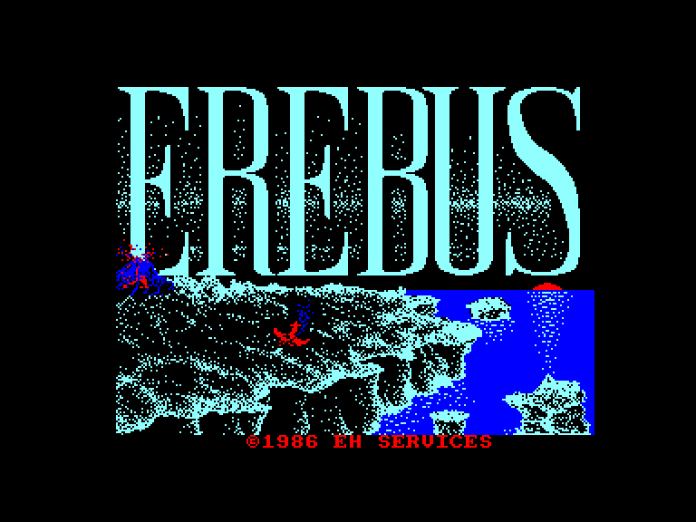 screenshot of Erebus provided by GameBase CPC