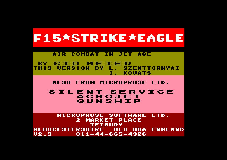 Les Jeux de Légende sur Amstrad & Amiga F15%20Strike%20Eagle%20(E)_1