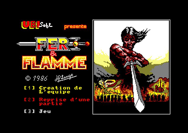 Les Jeux de Légende sur Amstrad & Amiga Fer%20&%20Flamme%20(F)_1