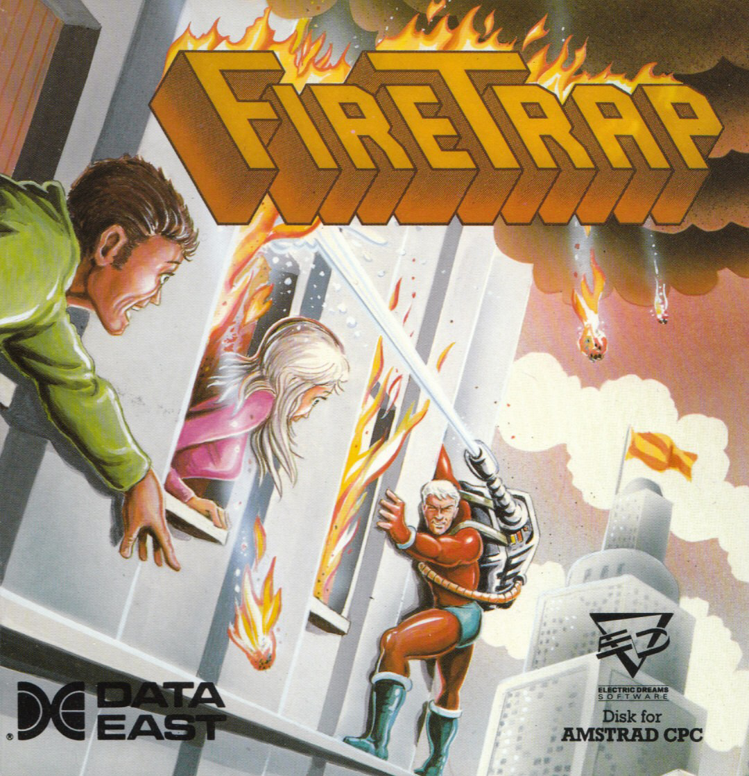 cover of Firetrap provided by GameBase CPC