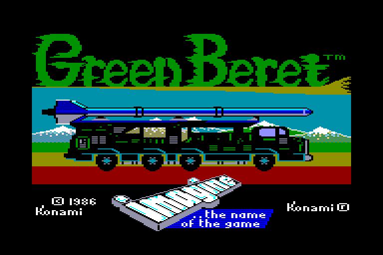 Les Jeux de Légende sur Amstrad & Amiga Green%20Beret%20(E)_1