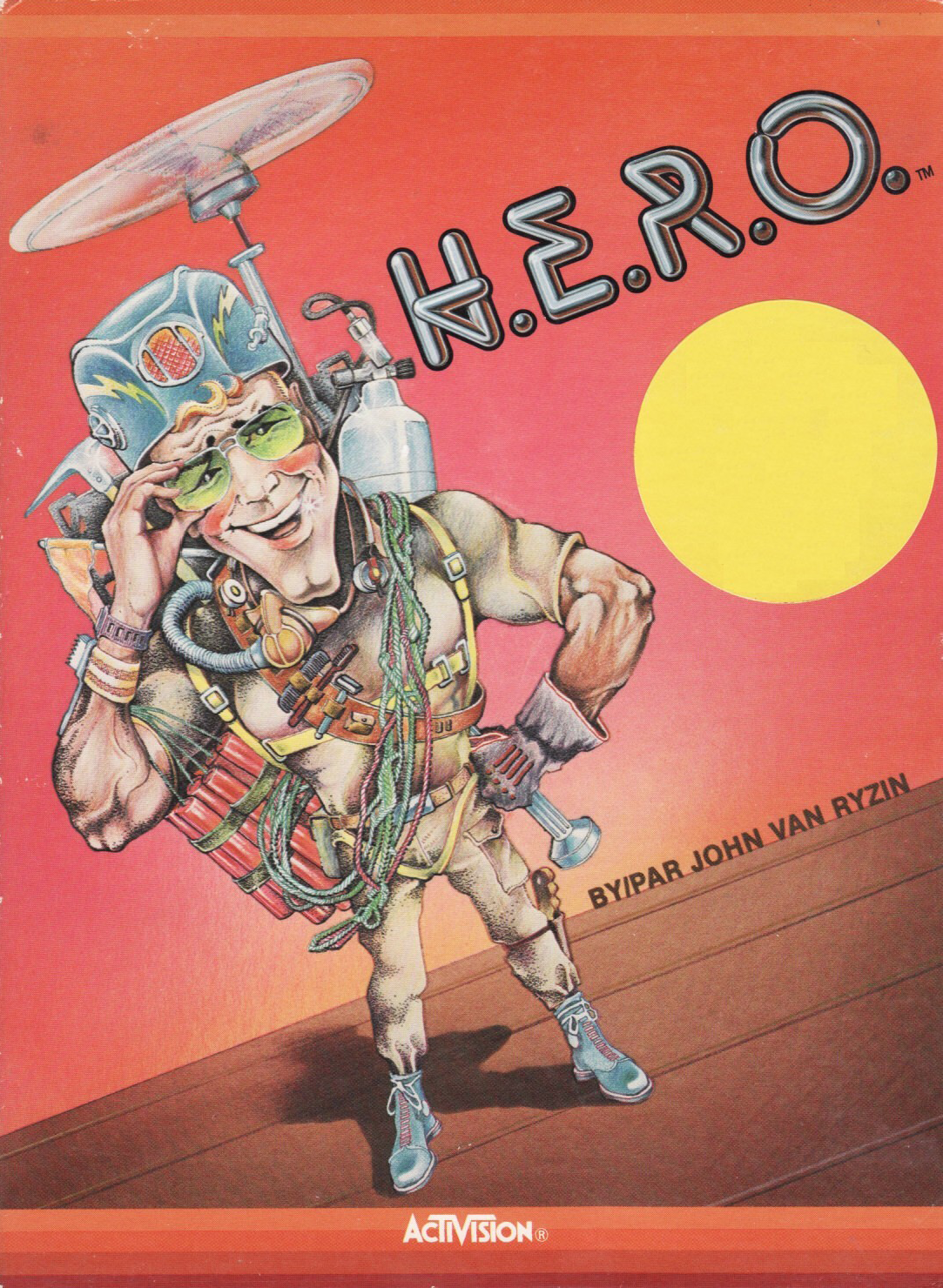 cover of H.E.R.O.  provided by GameBase CPC