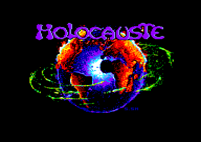 screenshot of Holocauste provided by GameBase CPC