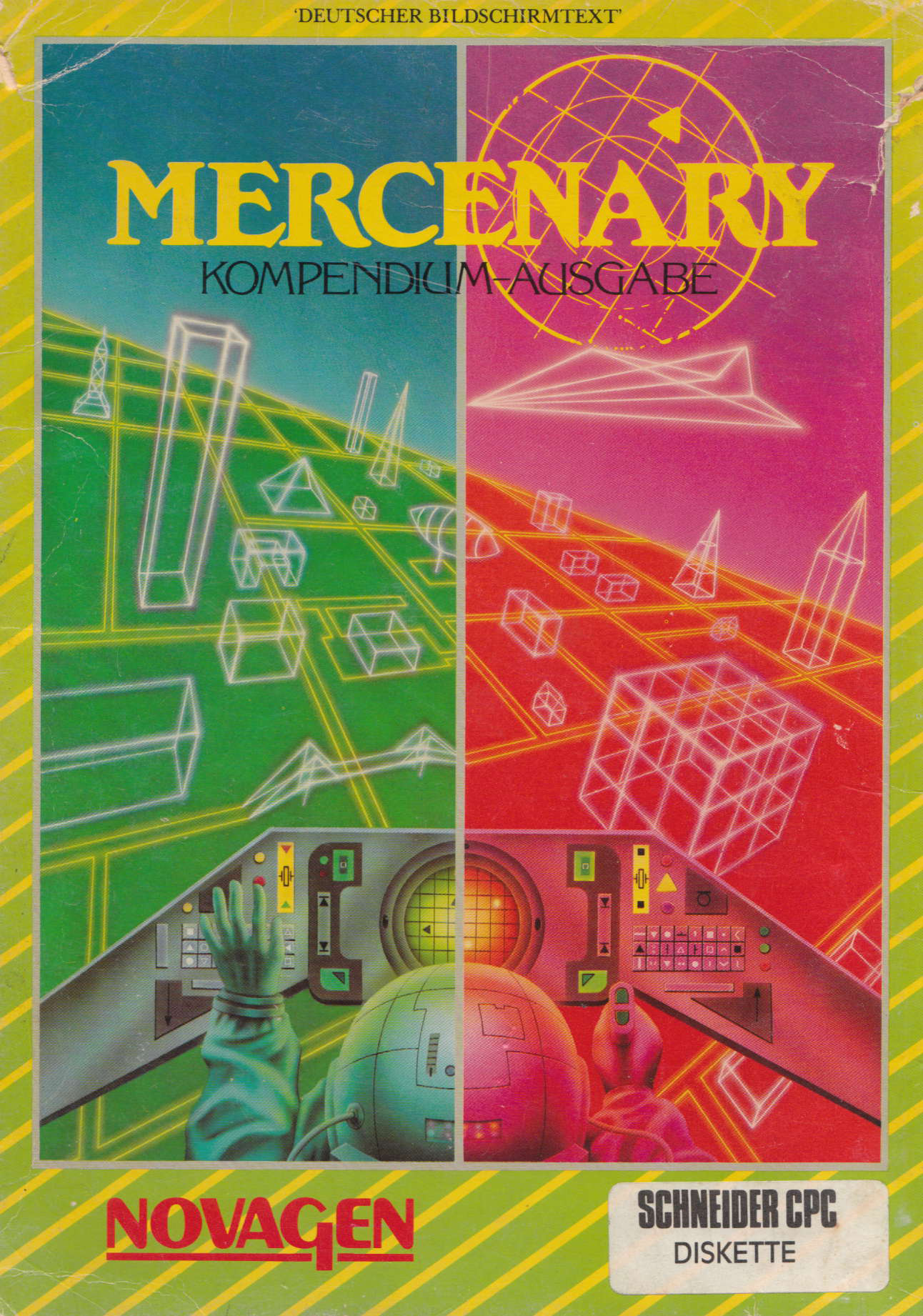 cover of Mercenary  provided by GameBase CPC