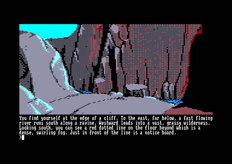 screenshot of Pawn (the) provided by GameBase CPC
