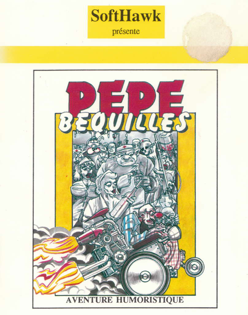 cover of Pepe bequilles provided by GameBase CPC