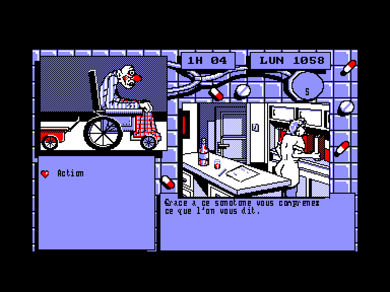 screenshot of Pepe bequilles provided by GameBase CPC