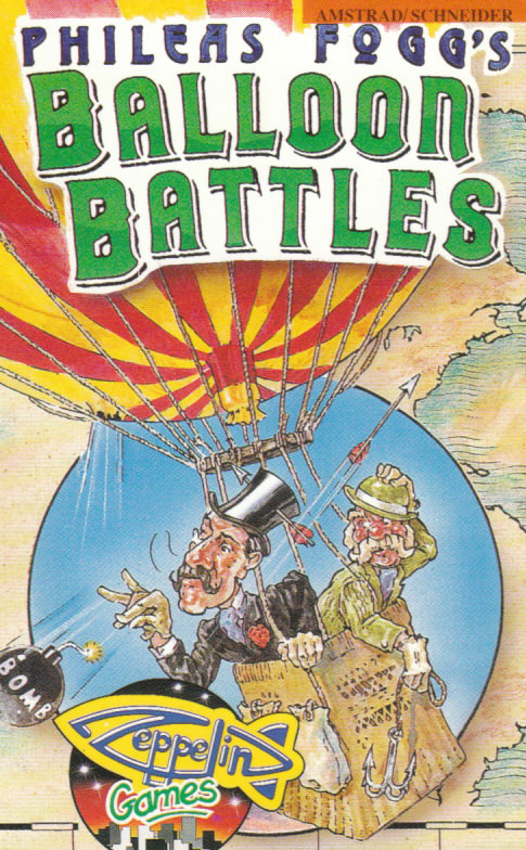 cover of Phileas Fogg's Balloon Battles provided by GameBase CPC