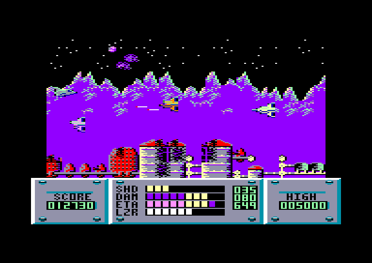 screenshot of Plasmatron provided by GameBase CPC