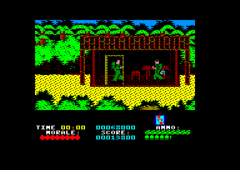 screenshot of Platoon provided by GameBase CPC
