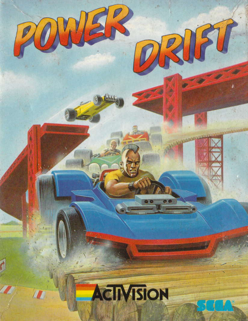 cover of Power drift provided by GameBase CPC