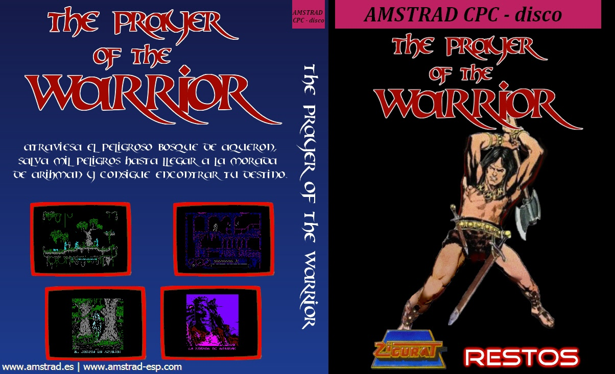 couverture du jeu Amstrad CPC the prayer of the warrior
