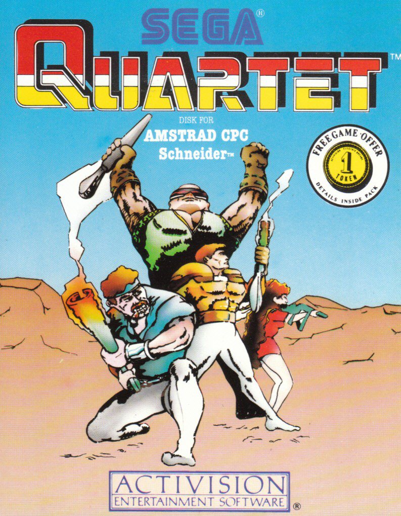 cover of Quartet provided by GameBase CPC