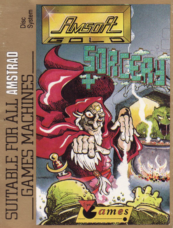 cover of Sorcery + provided by GameBase CPC