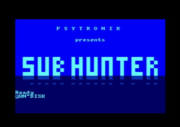 Sub Hunter CAT loading screenshot