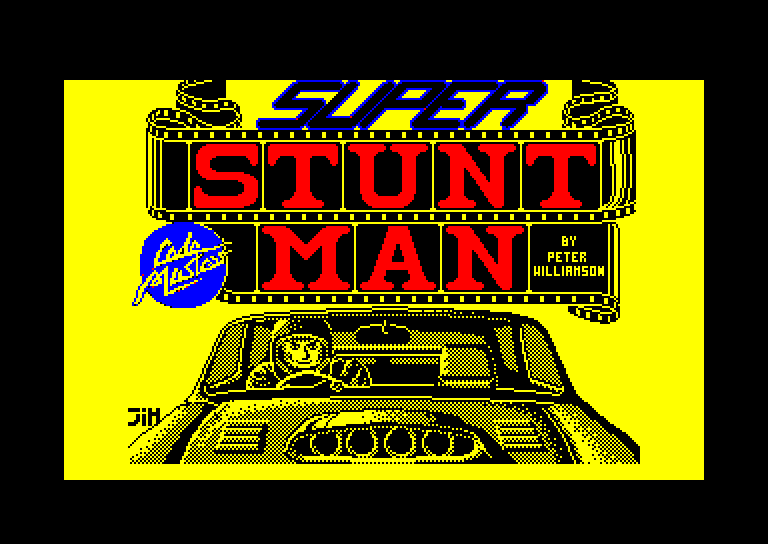 screenshot of Super stunt man provided by GameBase CPC
