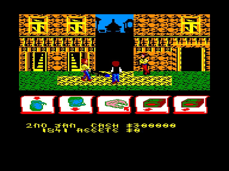 screenshot of Tai-Pan provided by GameBase CPC