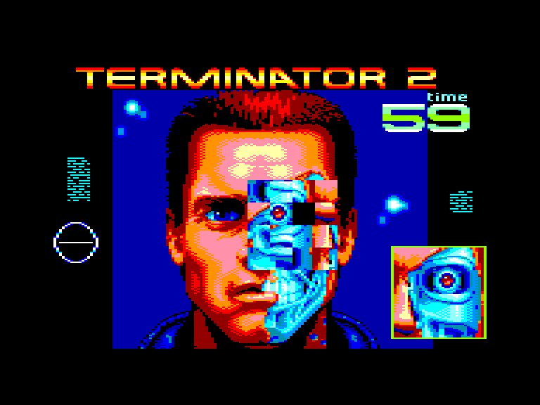 screenshot of Terminator 2 provided by GameBase CPC