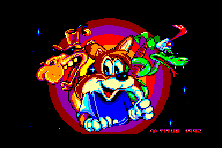 screenshot of Titus the fox provided by GameBase CPC