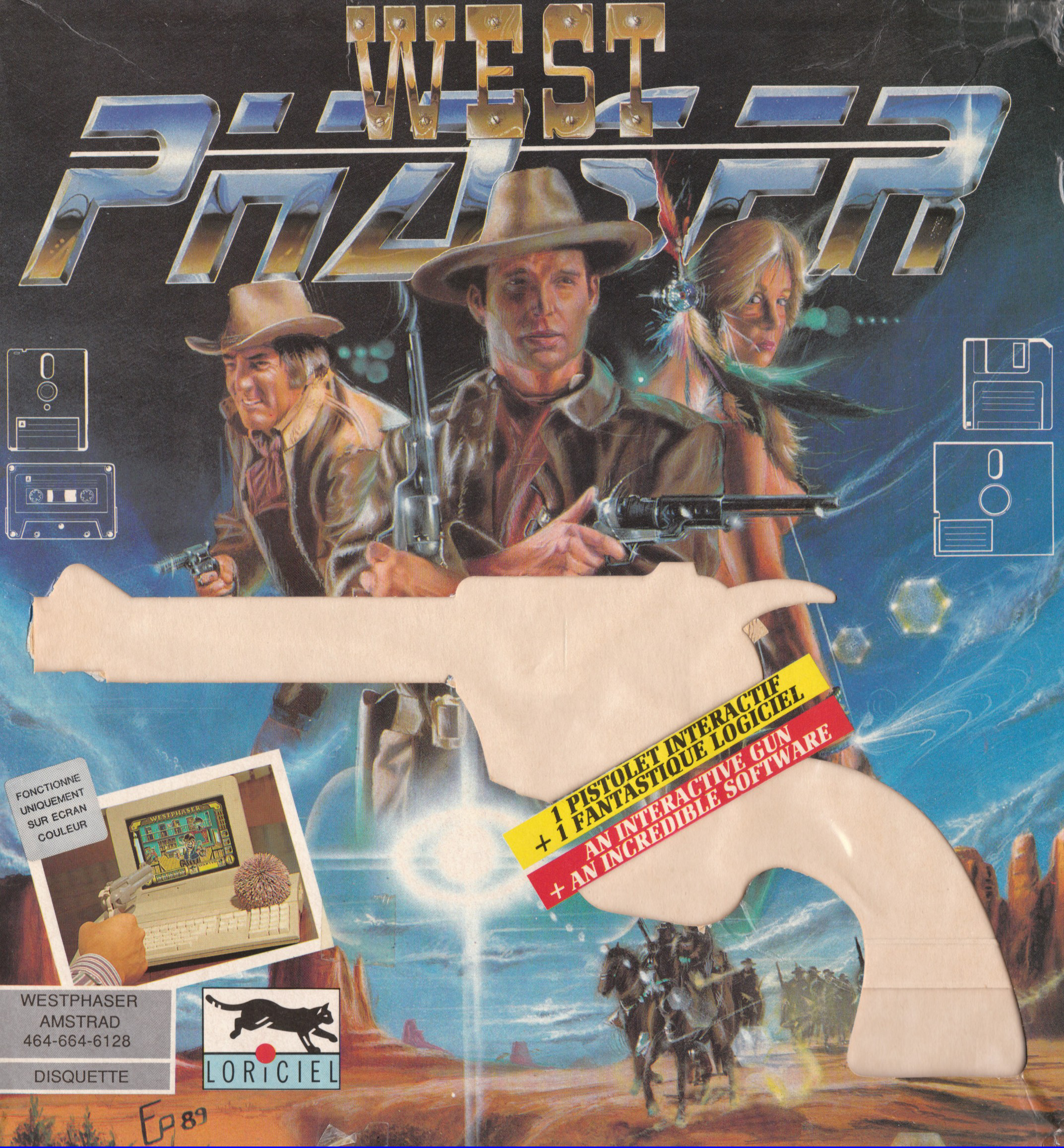 cover of West Phaser provided by GameBase CPC