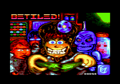 screenshot of the Betiled! game by Computer Emuzone Games Studio