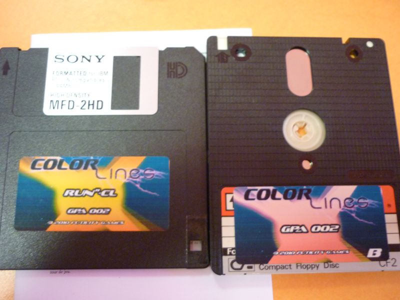 Color Lines disks