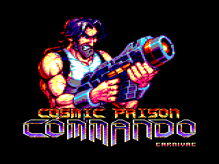 �cran de jeu de Cosmic Prison Commando pour windows