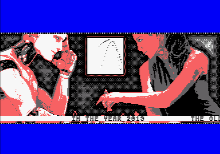 Mind in Motion, une d�mo Amstrad CPC par Software Failure