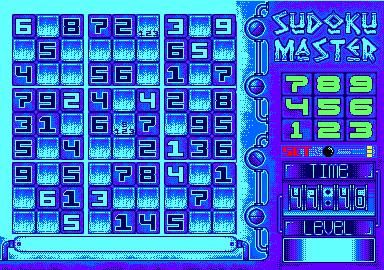 sudoku for Amstrad CPC